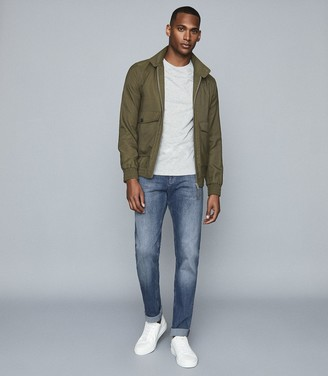 Reiss Pride - Slim Fit Jeans With Stretch in Airforce Blue