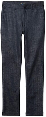 Vince Camuto Pinstripe Pants (Total Eclipse Navy Chalk Stripe) Men's Clothing