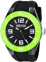Kenneth Cole Reaction Unisex RK1339 Street Collection Analog Display Japanese Quartz Black Watch