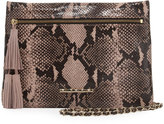 Elaine Turner Designs Sonata Embossed Chain Shoulder Bag, Python
