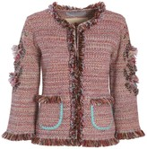 The Extreme Collection Red & Pink Classic Jacket Eulaia
