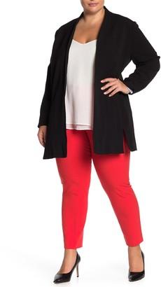 T Tahari Open Front Blazer (Plus Size)