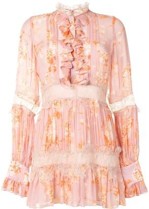 Alexis Beaumont floral print dress