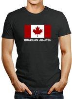 Idakoos FLAG CANADA Brazilian Jiu Jitsu - Sports - T-Shirt