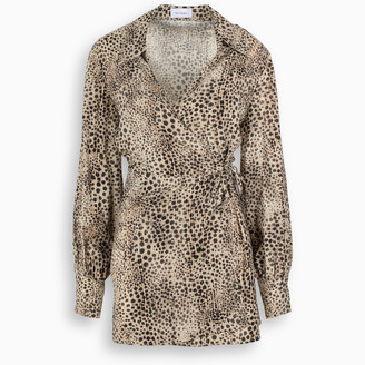 ART DEALER Animal print Bella dress