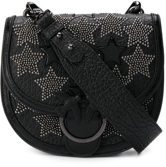 Pinko star studded shoulder bag