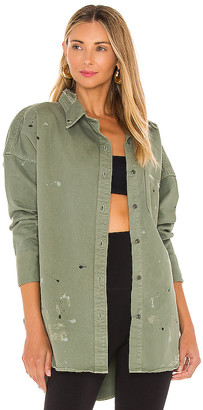 NSF Lewis Oversize Button Up