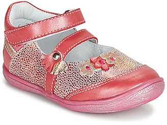 GBB PIA girls's Shoes (Pumps / Ballerinas) in Red