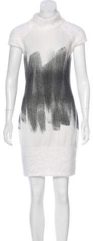 Chanel Angora & Cashmere Dress