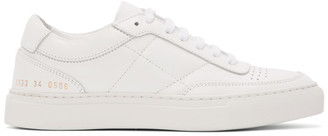Common Projects White Classic Resort Sneakers