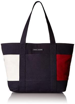 Tommy Hilfiger Tote Bag for Women Flag Canvas