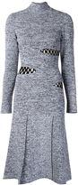 Proenza Schouler slash detail sweater dress - women - Nylon/Polyester/Spandex/Elastane/Rayon - S