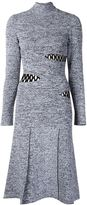 Proenza Schouler slash detail sweater dress