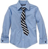 Brooks Brothers Boys' Solid Dress Shirt