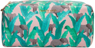 Fenella Smith Elephant Vegan Leather Box Wash Bag