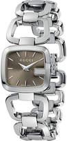 Gucci YA125507 G Collection polished steel watch