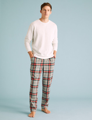Marks and Spencer Mens Family Christmas Pyjama Bottoms