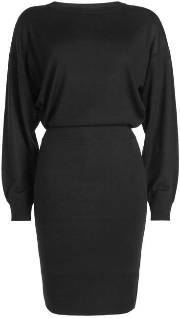 Theory Dress with Silk and Cashmere