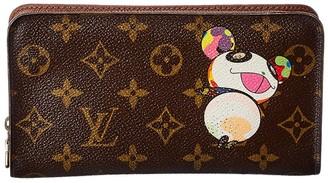Louis Vuitton Monogram Canvas Panda Zippy Wallet