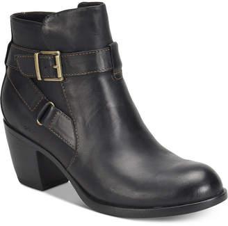 b.ø.c. Shea Leather Booties Women Shoes