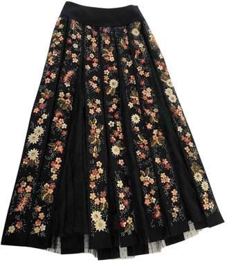 Christian Dior Black Cashmere Skirt for Women