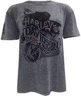 Harley-Davidson Men's End of the Road Short Sleeve Washed T-Shirt 5J31-HB7J (L)