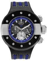 Invicta Men's 19179 S1 Rally Quartz Chronograph blue Dial Strap Watch - Black/Blue