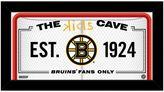 "Steiner Sports Boston Bruins 10"" x 20"" Kids Cave Sign"