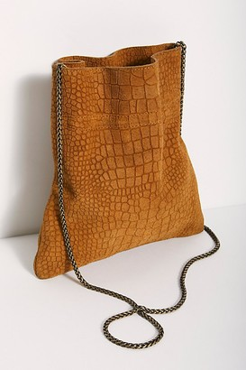 Fp Collection Nicolette Suede Crossbody