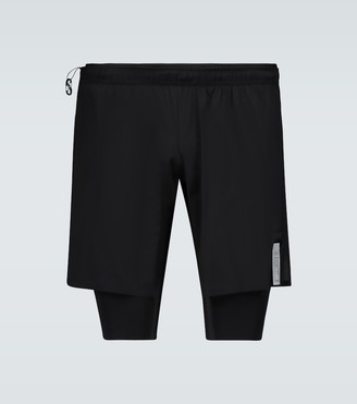 "Satisfy Justice Trail Long Distance 10"" shorts"
