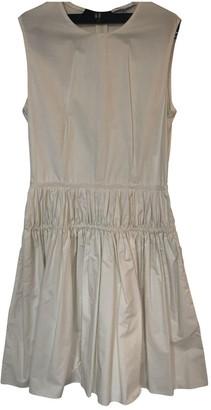 Carven White Cotton Dresses