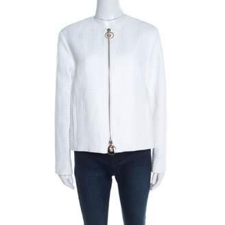 Versace White Cotton Jackets