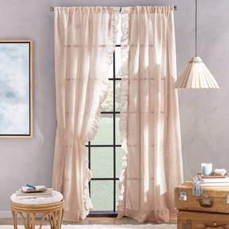 "Arabella Rod Pocket Curtain Panel, 50"" x 108"""