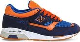 New Balance M1500 nubuck leather and mesh trainers