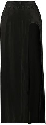 Ann Demeulemeester Thigh Slit Maxi Skirt