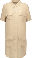 Equipment Remy brushed-silk shirt dress