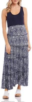 Karen Kane Topanga Sleeveless Tiered Maxi Dress
