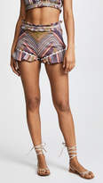 Red Carter Marica Shorts