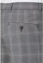 Jeff Banks Jeff Banks Mulberry Check Soho Suit Trousers In Modern Regular Fit - Grey