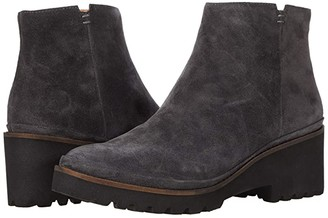 Gentle Souls by Kenneth Cole Mona Bootie (Charcoal Suede) Women's Shoes