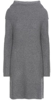 Polo Ralph Lauren Merino Wool And Cashmere Turtlenceck Sweater Dress