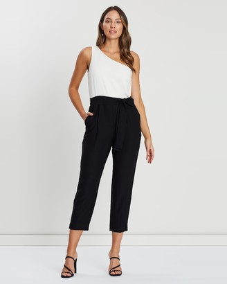 Banana Republic One Shoulder Jumpsuit
