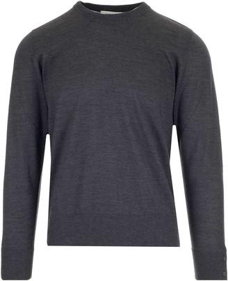 Thom Browne 4-Bar Back Stripe Knit Jumper
