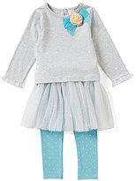 Starting Out Baby Girl 12-24M Top & Tutu Overlay Legging Set