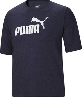 Puma Men's Big & Tall Essentials Heather TEE