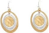 Robert Lee Morris Orbital Circle Drop Earrings