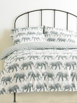 M&Co Elephant parade duvet set