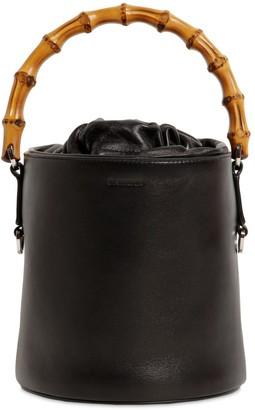 Jil Sander Sm Soft Leather Bucket Bag