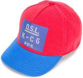 Diesel colour-block cap - kids - Cotton - 46 cm
