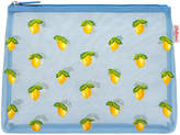 Cath Kidston Little Lemons Embroidered Mesh Pouch